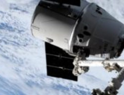 SpX-17 Makes it to the ISS